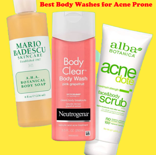 Best Body Washes for Acne Prone