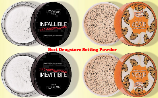Best Drugstore Setting Powder